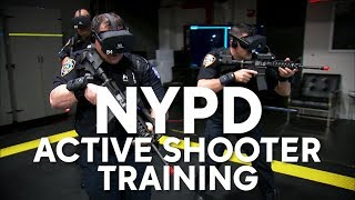 NYPD using VR to train for active shootings and real-life scenarios