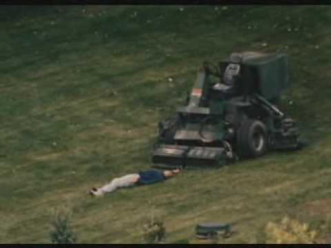 The Happening Review Clip 2: Death  Riding Mower