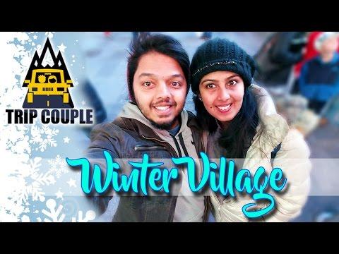 മലയാളം ട്രാവൽ വീഡിയോ | Winter Village | New York | Trip Couple | Malayalam Travel Vlog