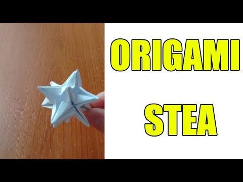 Tutorial Origami 3D | Seria de Crăciun | Stea pentru brad
