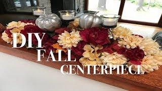 DIY FALL CENTERPIECE | Dollar Tree DIY | Fall home decor collab