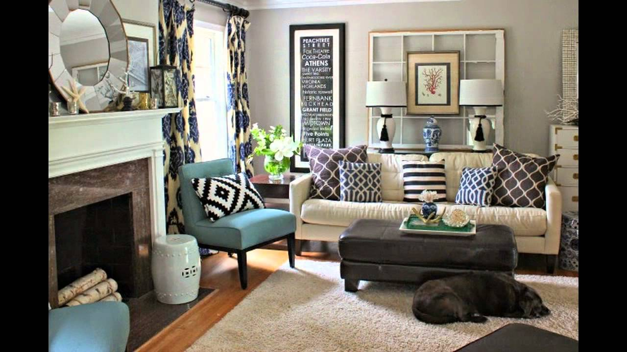 Diy Living Room Makeover - YouTube