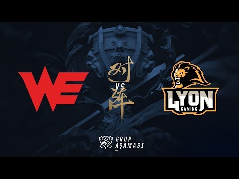 Team WE ( WE ) vs Lyon Gaming ( LYN ) Maç Özeti | Worlds 2017 Ön Eleme 1. Tur