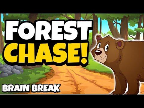 Forest Chase - Brain Break Activity // Fitness Adventure