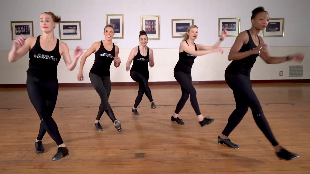 Rockettes One-Take Tap Dance Video!