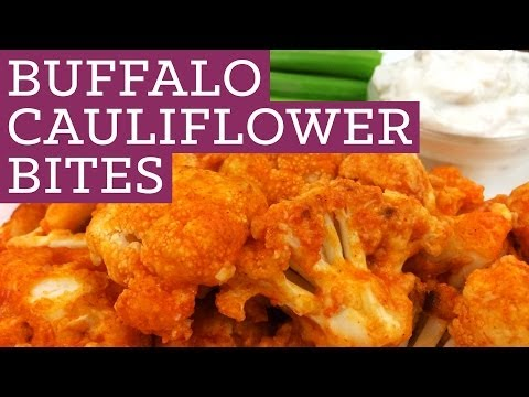 Buffalo Cauliflower Bites - Mind Over Munch Episode 15