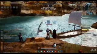 LVL 56 fishing in Black Desert Online (SEA)  HAHAHAHAHA