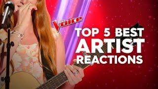 Top 5: Best Artist Reactions