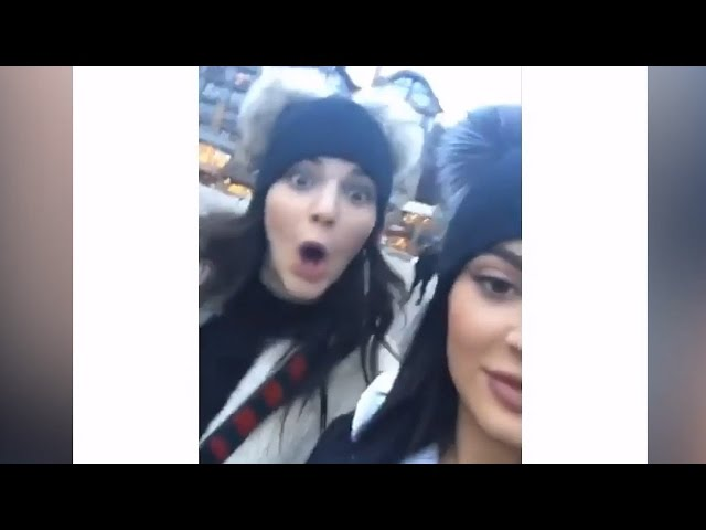 Kylie and Kendall Jenner Take A Snowy Trip To Vail Amid Rob Engagement News