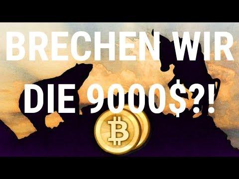 SCHAFFEN WIR DIE 9000$? Bitcoin/Krypto Update