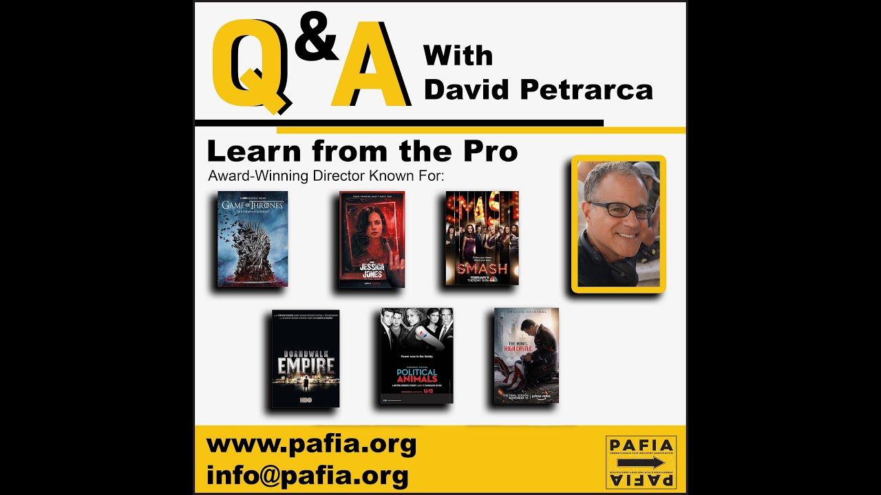 Masterclass with David Petrarca