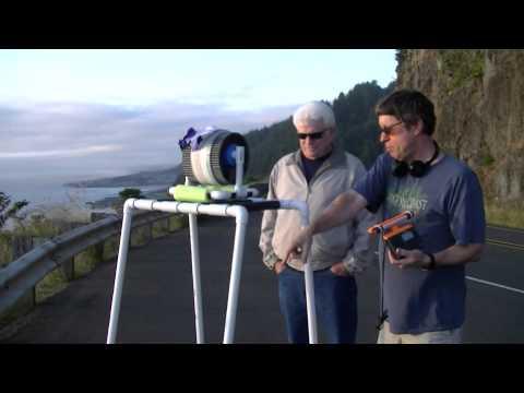 2012 Oregon Cliff Ultralight Radio DXpedition (Cape Perpetua)