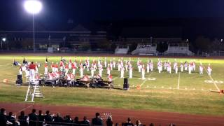 2014 Boston University Marching Band at New Milford Home Show