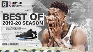 Giannis Antetokounmpo BEST Bucks Highlights from 2019-20 NBA Season (PART 1) GREEK FREAK!