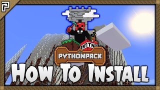 💎 Minecraft Tutorial | How To Install The Python Pack (1.11.2 Mod Pack)