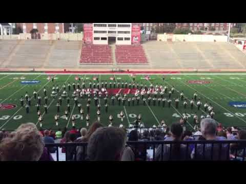 Fort Payne High School Marching Band at JSU 2017