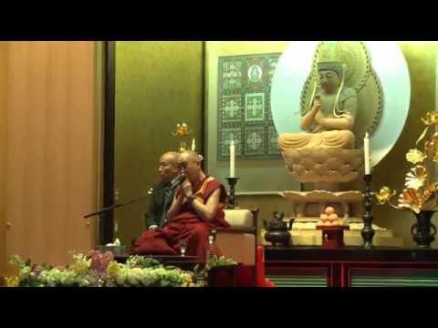 Talk on Tibetan Mikkyo (Sa-Ngag) at Shuchin Mikkyo University, Kyoto, Japan