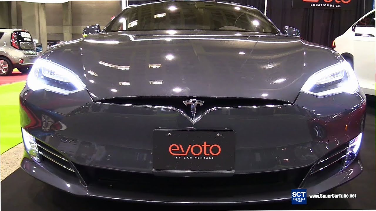 2017 Tesla Model S 75d Exterior And Interior Walkaround 2017