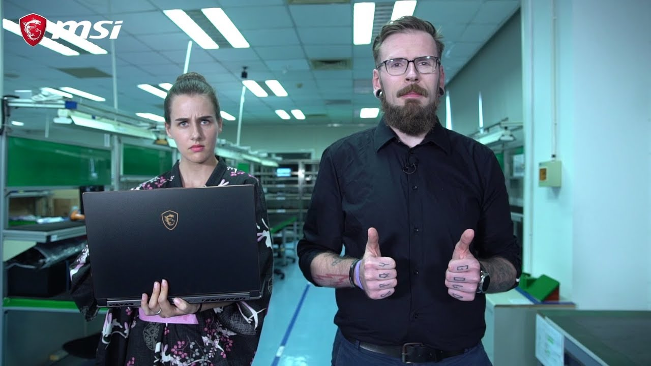Die MSI Notebook-Fabrik – wo verdammt gute Geräte Standard sind!