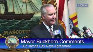Rays Agreement Press Conference