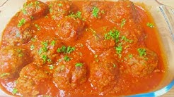 How To Make The Perfect Meatballs from Scratch | Marinara Sauce & Meatball Recipes || Cheffoodiecast