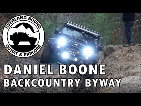 Overland Bound Meetup - Daniel Boone Backcountry Byway