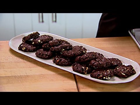 Ina's Chocolate Almond Cookies | Food Network