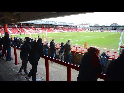 Fan cam | Marc Pugh nets an equaliser at Brentford