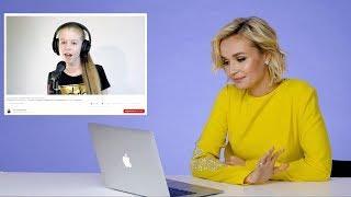 """Download Полина Гагарина слушает каверы на свои песни: """"Слезы мешают говорить!"""" Mp3 and Videos"""