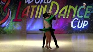 Alvin & Emily, USA, Salsa On 2 Amateur Couple, Final 2nd Place, WLDC 2016