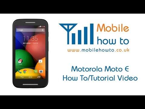 How To Set A Ringtone - Motorola Moto E