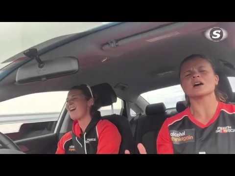 Carpool Karaoke | Charlotte Edwards & Suzie Bates