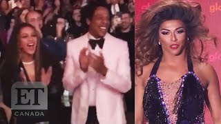 After Shangela performed a Beyonce medley in front of Beyonce at th...