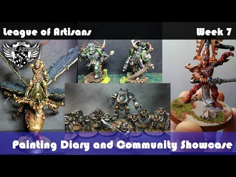 The League of Artisans #7 Painting Diary and Community Showcase