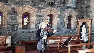 Jesu Joy of Man's Desiring -Violin YouTube Thumbnail