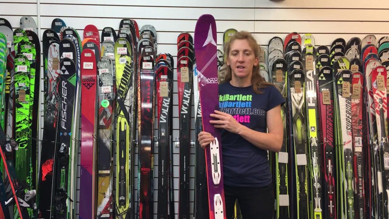 Atomic Vantage 85 Womens Ski - YouTube 6332143b9