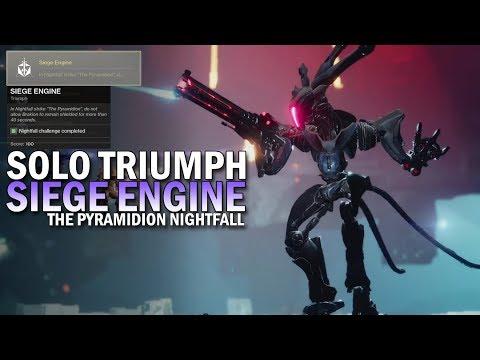 Destiny 2 - Solo 100k Nightfall: Pyramidion (Hunter