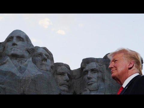 ترامب يدين -عنف وفوضى- المظاهرات المنددة بالعنصرية ويشيد ببلاده -الأكثر عدلا على وجه الأرض-  - 15:59-2020 / 7 / 4