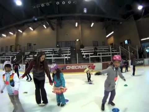 Learn To Skate at the Ice Den