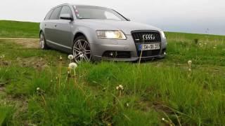 Audi A6 4F 3.0 TDI Offroad Action Bißchen Driften und Wilde Sau Spielen