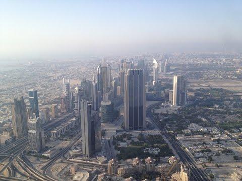 Dubai, UAE - 02 - Foto dalla cima del Burj Khalifa + Chiacchericcio VLOG su Dubai (23.07.2014)