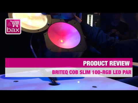 Musikmesse 2015 - Briteq COB Slim 100-RGB LED Par