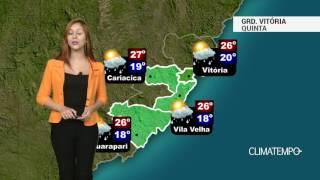 Previsão Grande Vitória - Mais sol e menos chuva