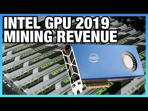 "HW News - Intel GPU in ""2019,"" nVidia Mining Revenue"