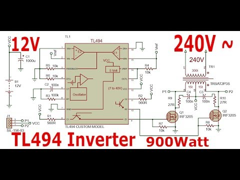 Full Download] Power Inverter With Tl494 12 240v 500watt