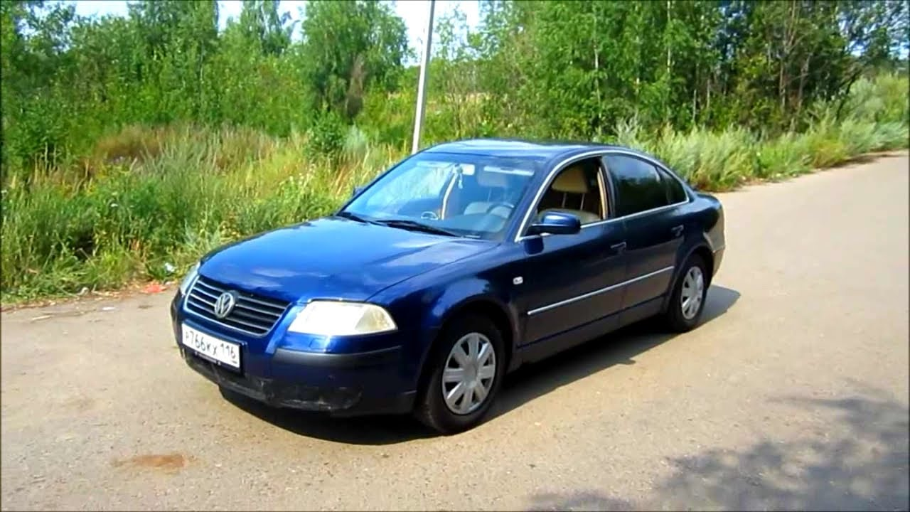 2001 volkswagen passat b5 start up engine and in depth tour youtube