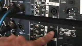 How to link up your amps/ amplifier Mr/ Mrs DJ.