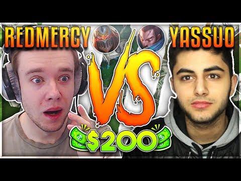 REDMERCY VS YASSUO  $200 1v1 SHOWDOWN Season 2 - League of Legends