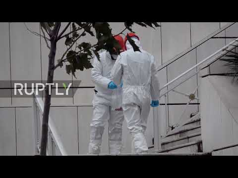 Greece: Bomb explodes outside Athens appeals court