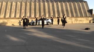 Смотреть видео АССА, Москва улица, Лезгинка, Культура онлайн